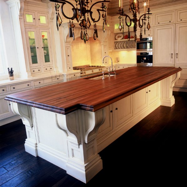 Butcher Block Countertop by The Countertop Company